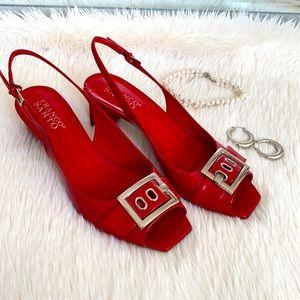 Franco Sarto Vintage Red Shoes